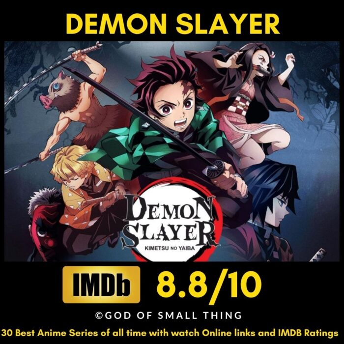 Best Anime of all Time Demon Slayer