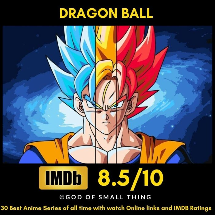 Best Anime of all Time Dragon Ball
