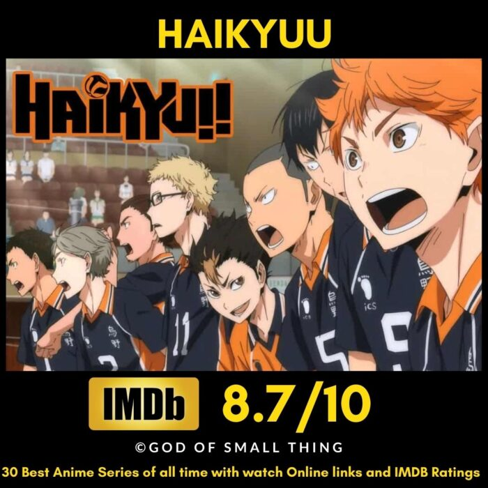 Best Anime of all Time Haikyuu