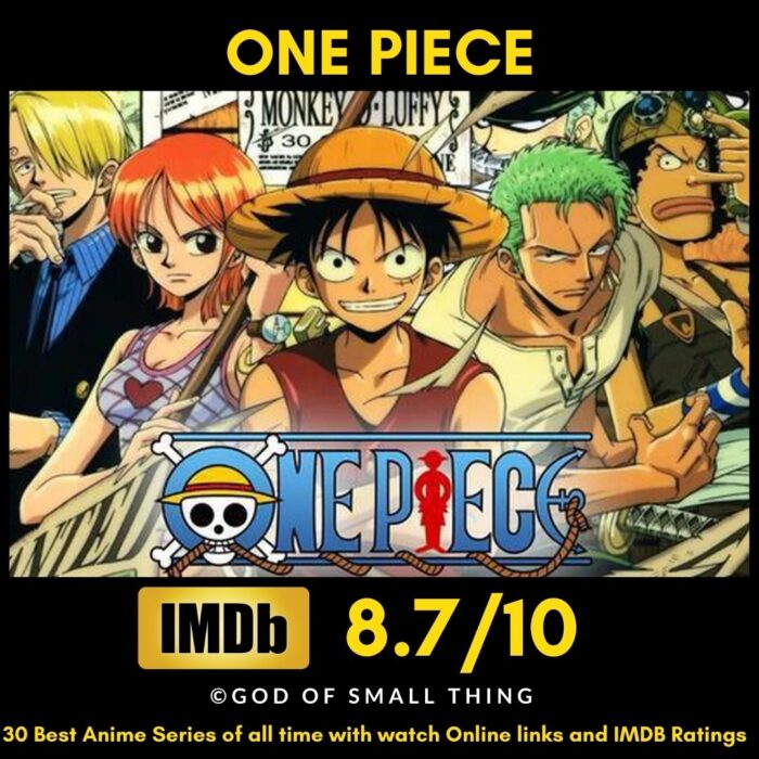 Best Anime of all Time One Piece