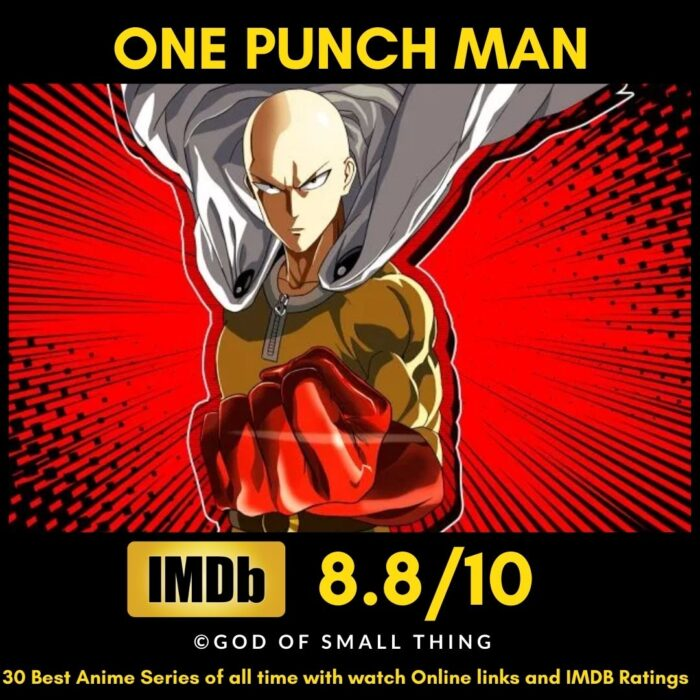 Best Anime of all Time One Punch Man