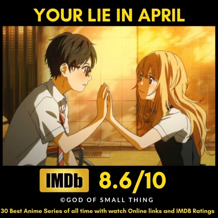 Best Anime of all Time Your Lie in April