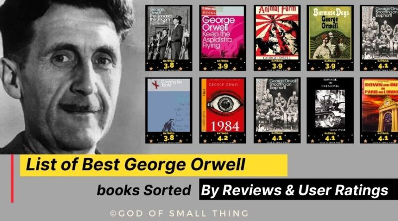 Best George Orwell books