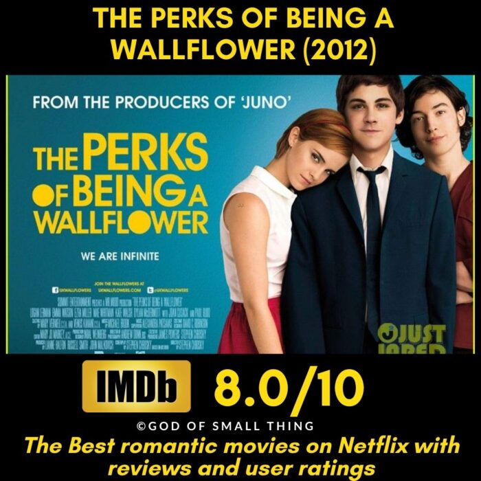 Best Romantic movies The Perks of being a Wallflower