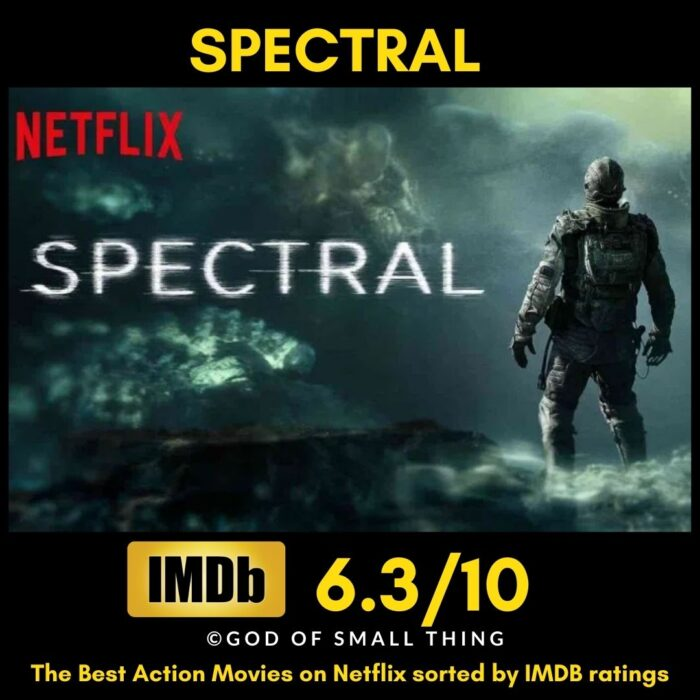 Best action movies on Netflix Spectral
