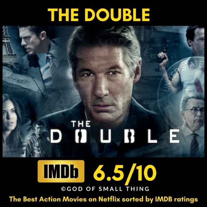 Best action movies on Netflix The Double