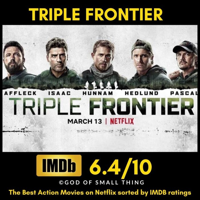 Best action movies on Netflix Triple Frontier