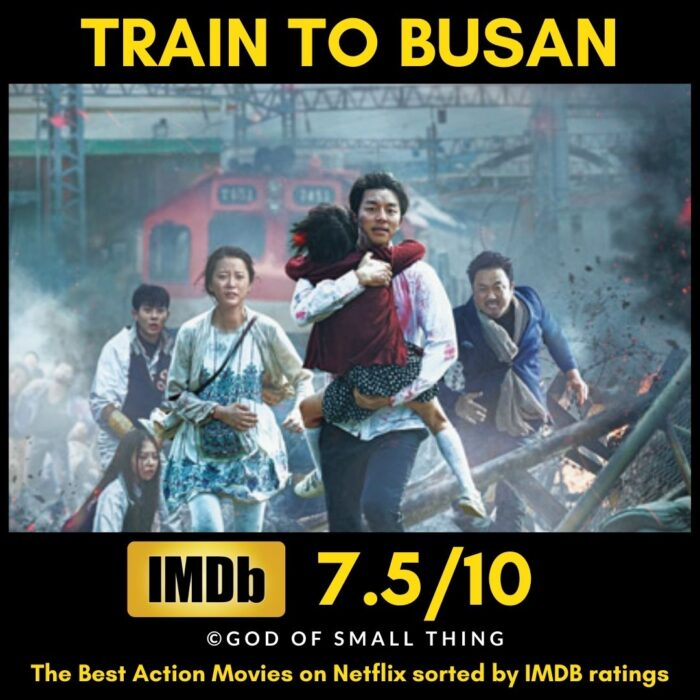Best rated action movies on netflix Train to Busan