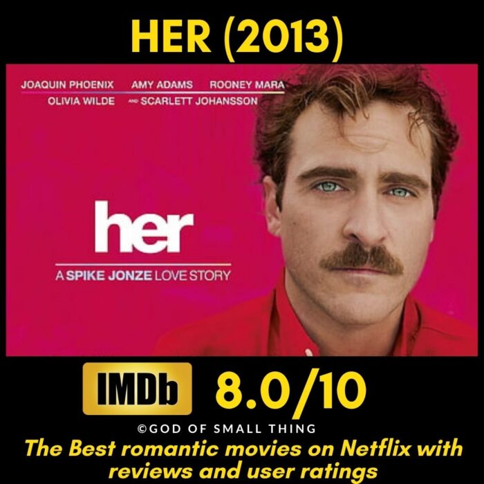 Best rated romantic movies on netflix Her