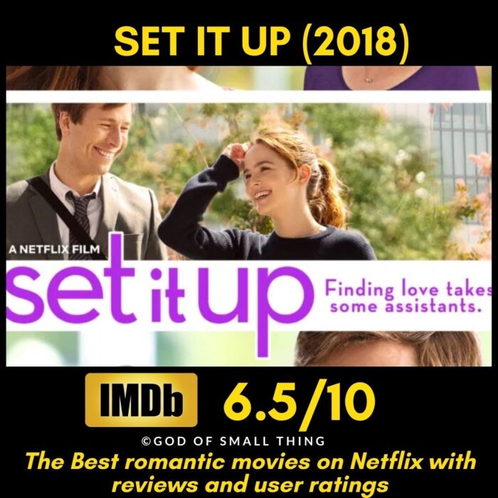 Best rated romantic movies on netflix Set It Up