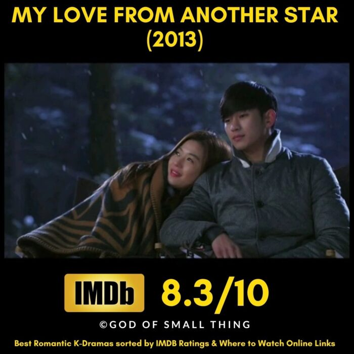 Popular Romantic K drama My Love From Another Star