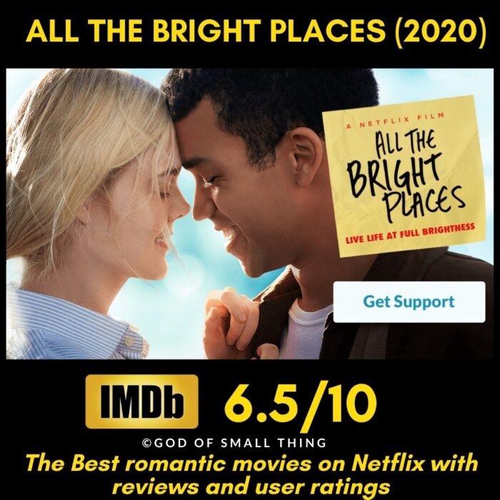 Romantic movies on Netflix All the Bright Places