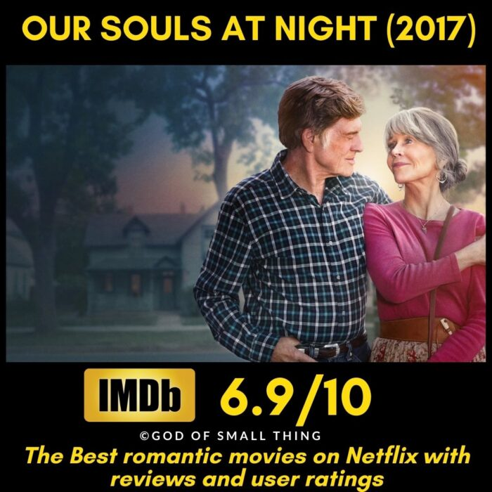 Romantic movies on Netflix Our Souls at Night
