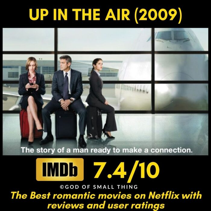 Romantic movies on Netflix Up in the Air