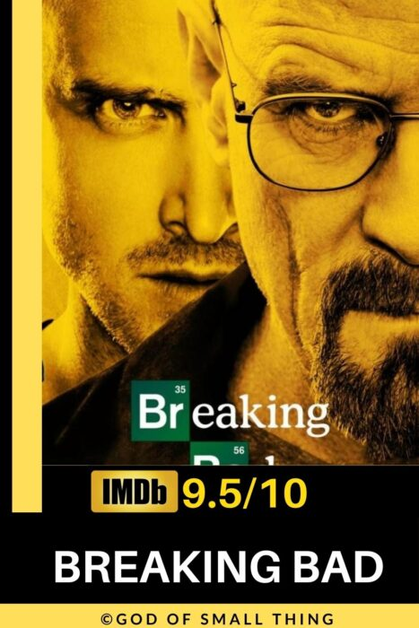 Best rated crime series on Netflix: Breaking Bad