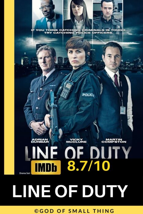 Best rated crime series on Netflix Line of duty