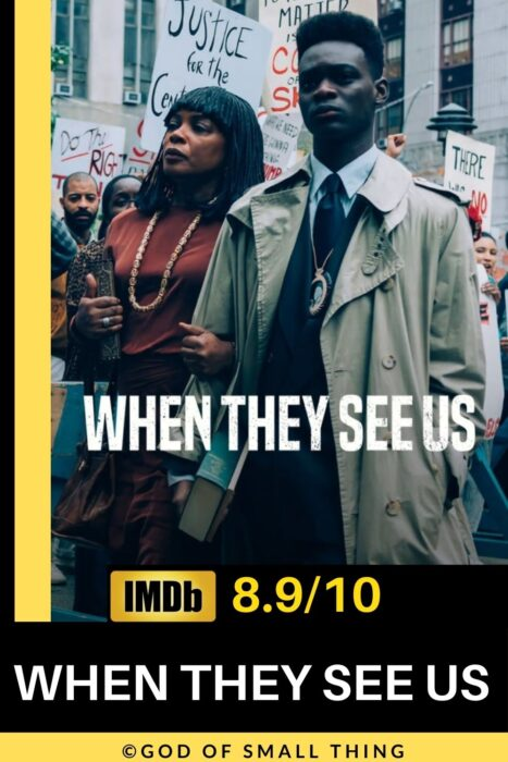 Crime series on Netflix When they see us