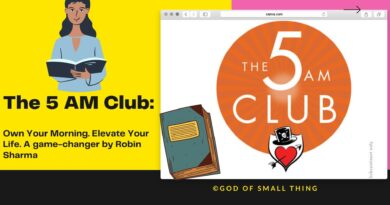 The 5 AM Club book by robin sharma