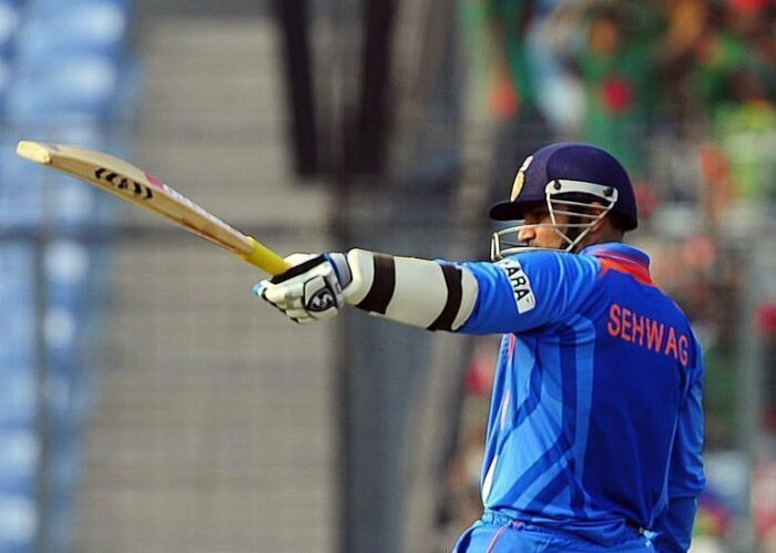 Virendra Sehwag Jersey Number 00