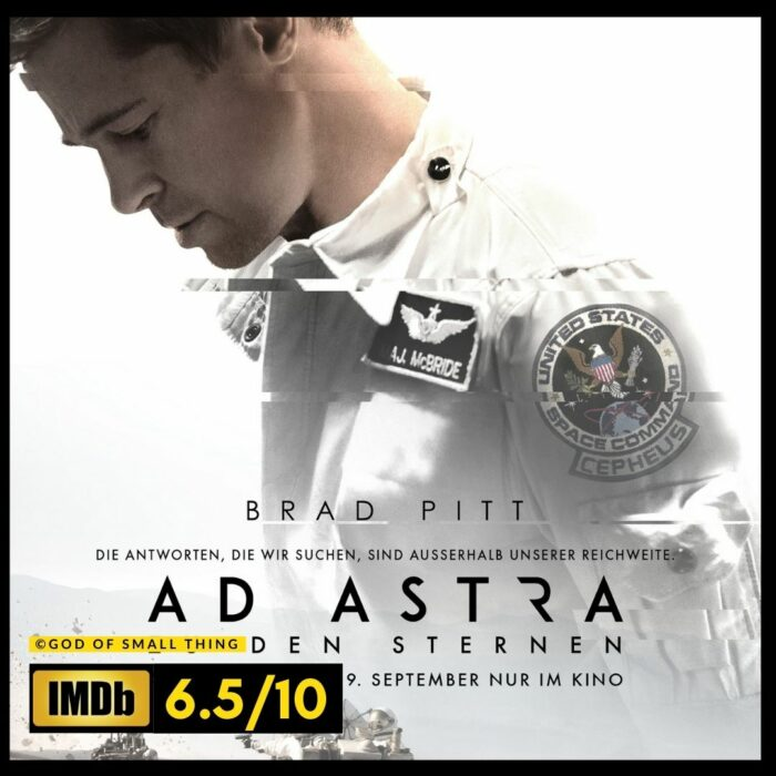 Ad Astra space movie