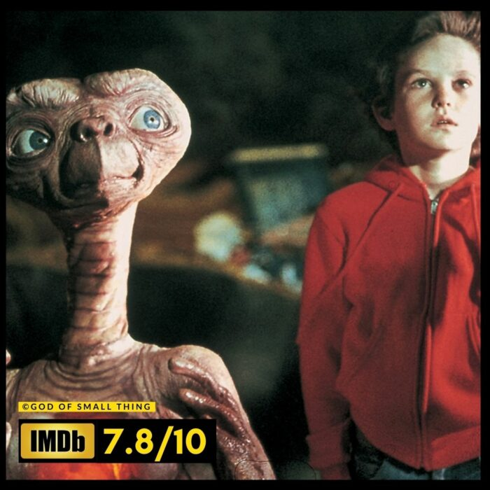 E.T. the Extra Terrestrial space movies