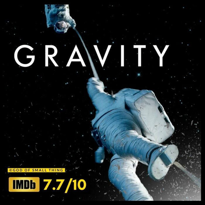 Gravity best space movies