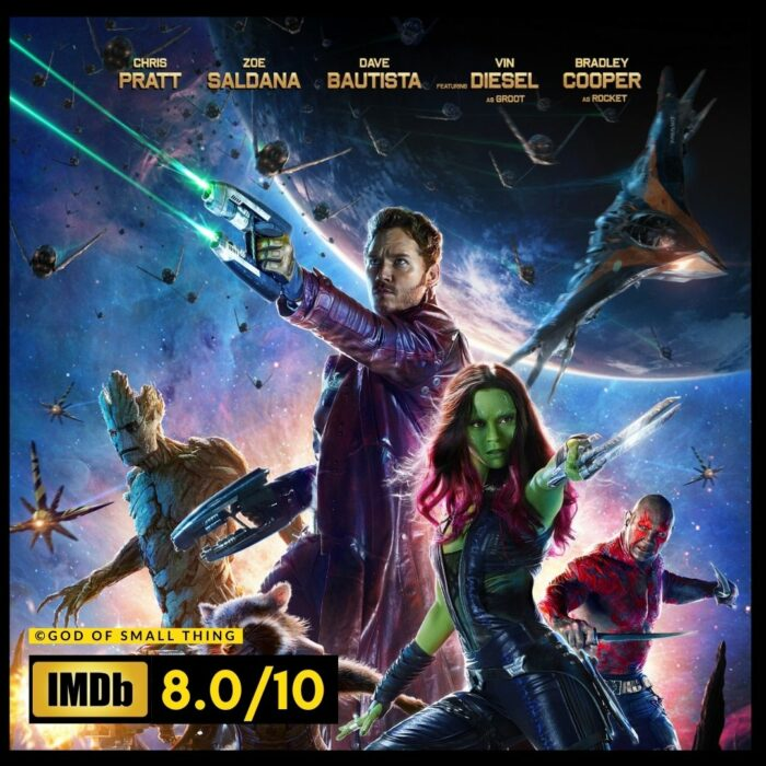 Guardians of the Galaxy space movie