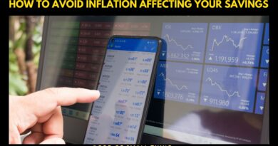 How to Avoid Inflation Affecting Your Savings