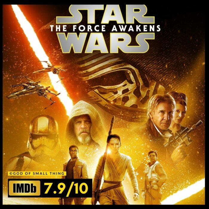 Star Wars The Force Awakens (Episode VII) space movies