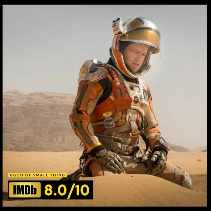The Martian space movie