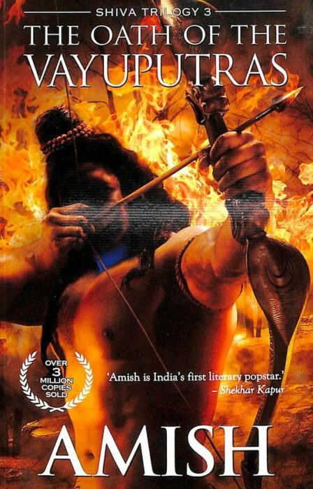 The Oath of the Vayuputras book by Amish Tripathi