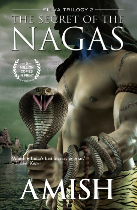 The Secret of the Nagas book by Amish Tripathi