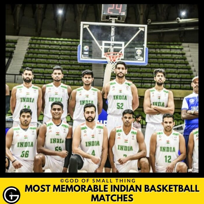Most Memorable Indian Basketball Matches