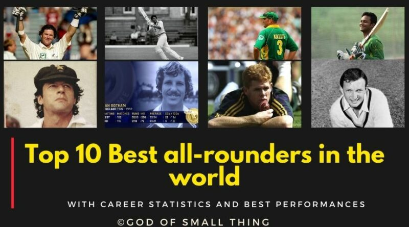 Best all rounders in the world