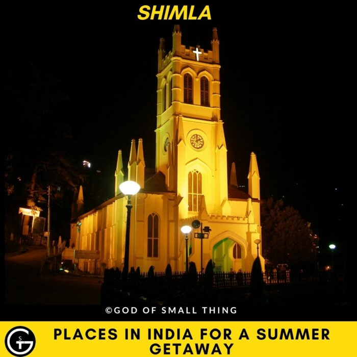 Places in India for a Summer Getaway