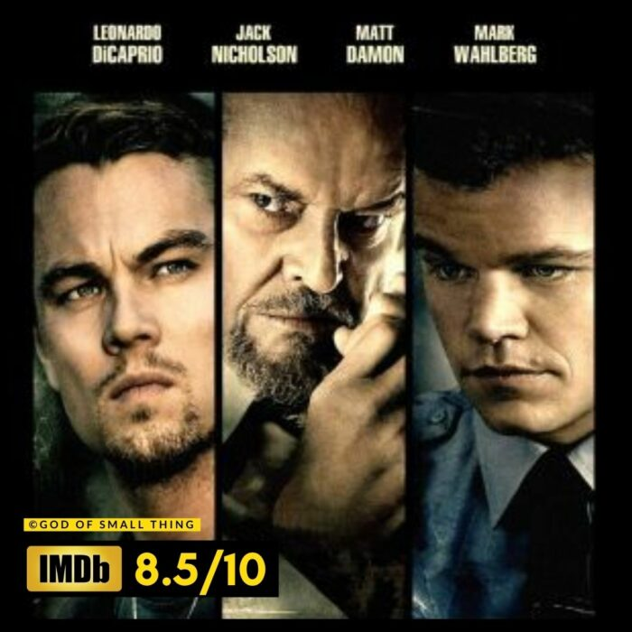 Best thriller movies on amazon prime: The Departed