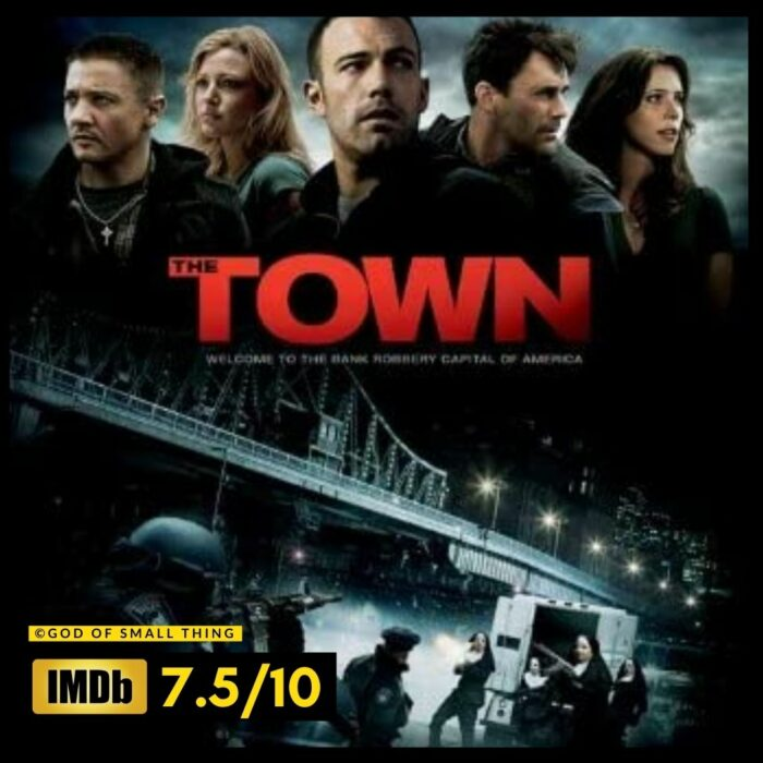 Best thriller movies on amazon prime: The Town Movie