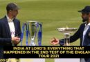 India at Lord's - Second Test