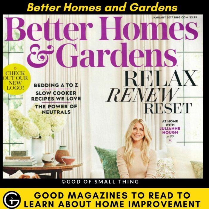 Magazines About Home Improvement - Better Homes and Gardens
