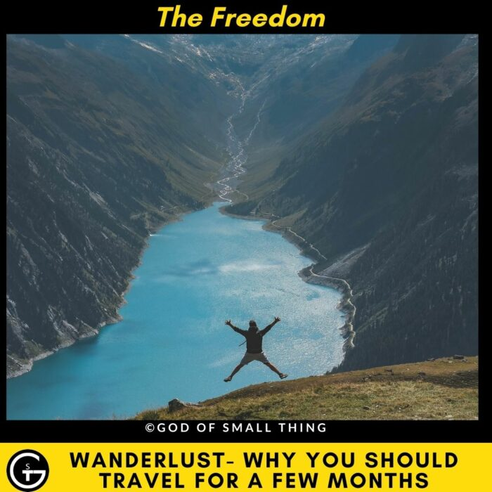 Why should you travel - For the Freedom
