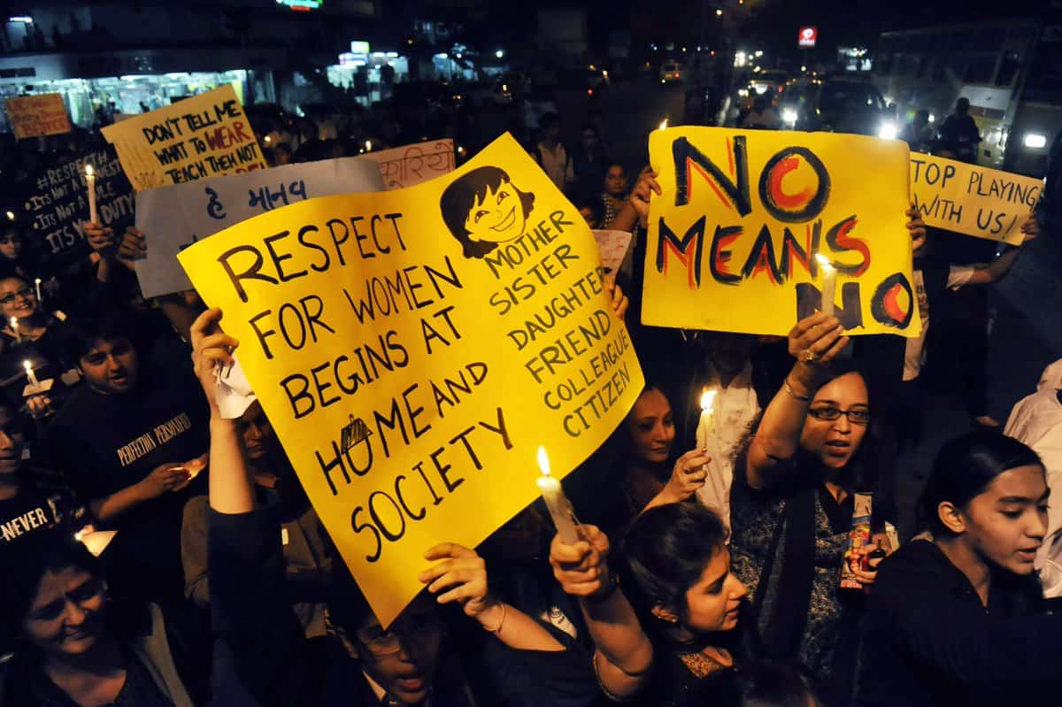 Sexual harassment law in India: