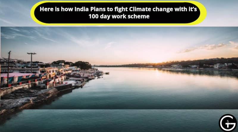 India Plans to fight Climate change
