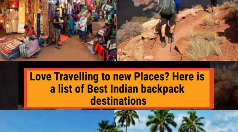 Best backpack destinations in India