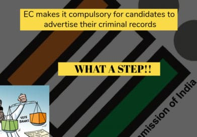 EC makes it compulsory for candidates to advertise their criminal records