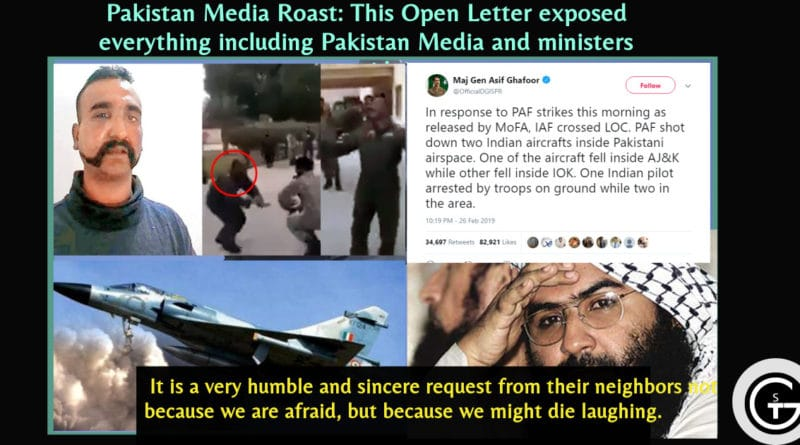 Pakistan Media Roast: This Open Letter exposed everything Pakistan Media and ministers said