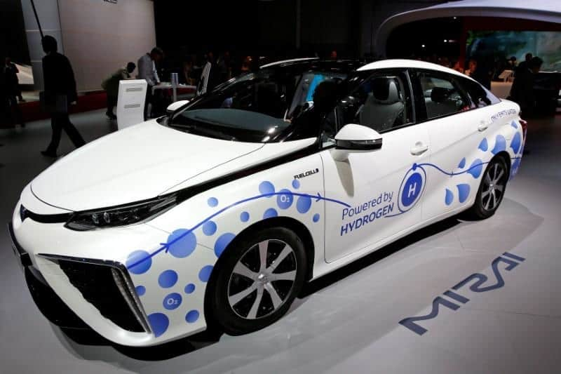 Hydrogen fuel cell cars in India
