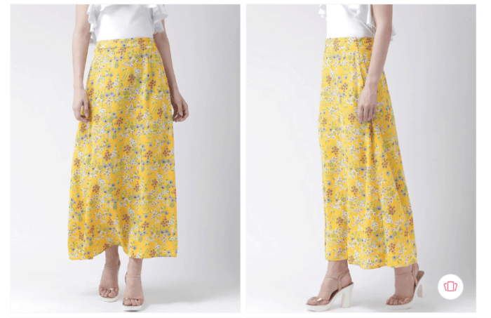 Fashion steals:The Vanca women floral printed line maxi skirt from Myntra
