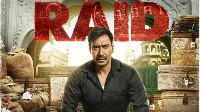 Content is King - Bollywood movie Raid