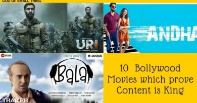 10  Bollywood Movies which prove Content is King