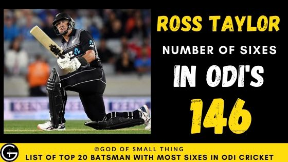 Number of Sixes by Ross Taylor